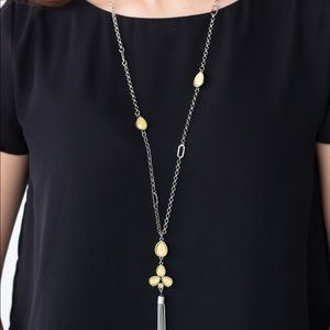 Eden Dew Yellow necklace